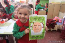 Pintando a Frida Kahlo en Salas de 5 79