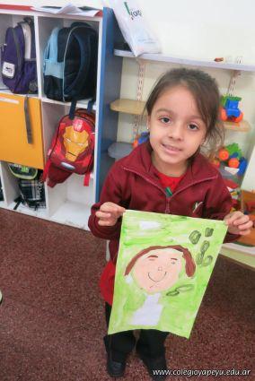 Pintando a Frida Kahlo en Salas de 5 82