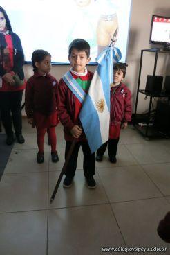 Acto en Homenaje a la Bandera de Jardin 5