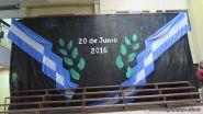 Acto por el 20 de junio de Primaria 3