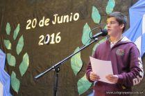 Acto por el 20 de junio de Secundaria 12
