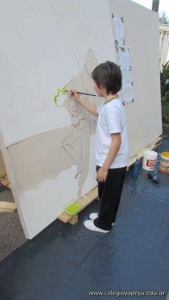 Disfrutando de los Murales 7