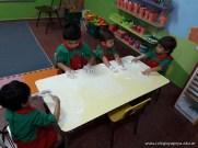 Espuma en salas de 4 años 11