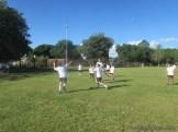 Gran arranque de clases en el campo deportivo 41