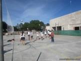 Gran arranque de clases en el campo deportivo 57