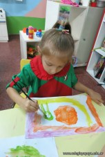 Pintando con pinceles 17