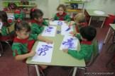 Pintando con pinceles 4