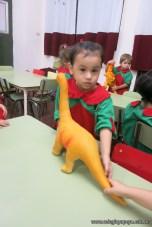 Visita de dinosaurios 5
