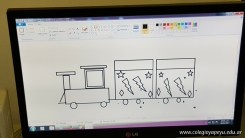 Dibujando trenes 28
