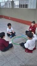 Actividades de coordinación en Ed. Física 4