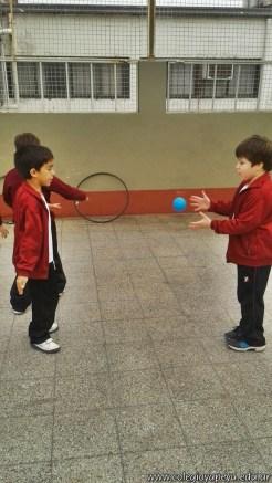 Actividades de coordinación en Ed. Física 5