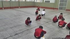 Educación física en Jardín 10