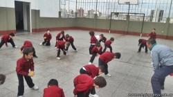 Educación física en Jardín 14