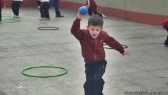 Educación física en Jardín 23