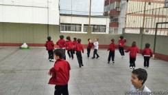 Educación física en Jardín 3