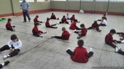 Educación física en Jardín 4