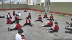 Educación física en Jardín 7