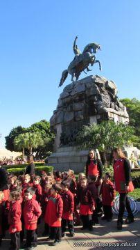 Festejo de Cumpleaños y Desfile en Homenaje a San Martin 105