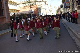 Festejo de Cumpleaños y Desfile en Homenaje a San Martin 113