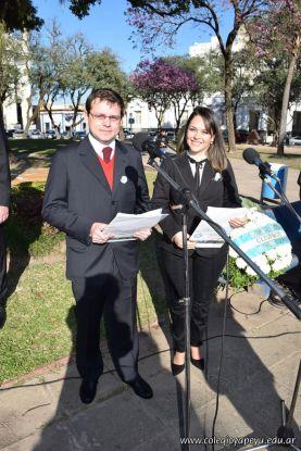 Festejo de Cumpleaños y Desfile en Homenaje a San Martin 127