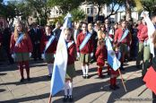 Festejo de Cumpleaños y Desfile en Homenaje a San Martin 164