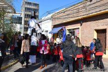 Festejo de Cumpleaños y Desfile en Homenaje a San Martin 215