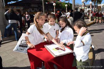 Festejo de Cumpleaños y Desfile en Homenaje a San Martin 281