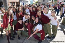 Festejo de Cumpleaños y Desfile en Homenaje a San Martin 284