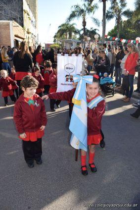 Festejo de Cumpleaños y Desfile en Homenaje a San Martin 36