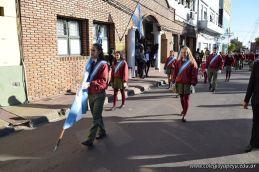 Festejo de Cumpleaños y Desfile en Homenaje a San Martin 67