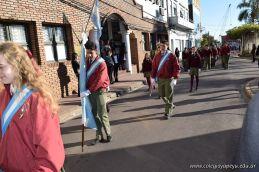 Festejo de Cumpleaños y Desfile en Homenaje a San Martin 68