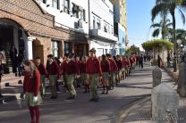 Festejo de Cumpleaños y Desfile en Homenaje a San Martin 72