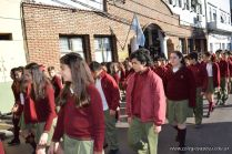 Festejo de Cumpleaños y Desfile en Homenaje a San Martin 76