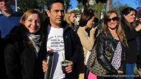 Festejo de Cumpleaños y Desfile en Homenaje a San Martin 98