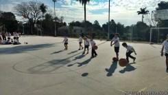 Hermosa tarde a puro deporte en el campo deportivo 5