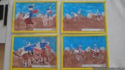 Pintando el cruce de los Andes 112