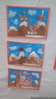 Pintando el cruce de los Andes 115