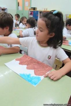 Pintando el cruce de los Andes 20
