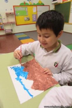 Pintando el cruce de los Andes 21