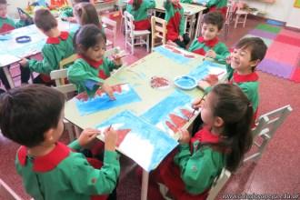 Pintando el cruce de los Andes 65