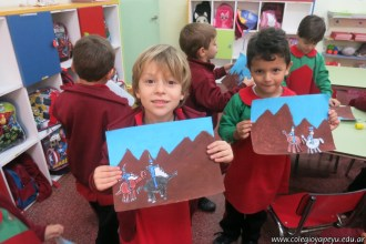 Pintando el cruce de los Andes 76