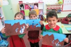 Pintando el cruce de los Andes 77