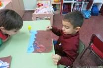 Pintando el cruce de los Andes 84