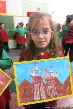 Pintando el cruce de los Andes 97