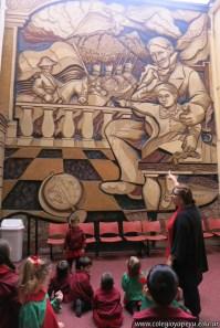 Recorrido del mural 12