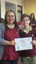 Certificados Spelling Bee 28