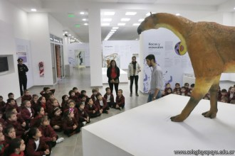 Visita al museo de Cs. Naturales 11