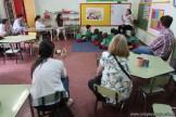 Clase abierta de inglés en sala de Belén 15