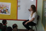Clase abierta de inglés en sala de Belén 8