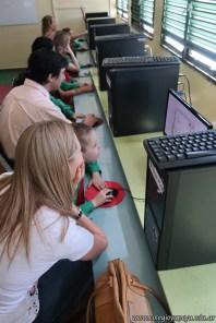 Clase de computación de la sala de Antonella 27